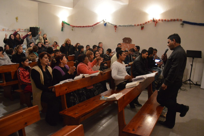 Ja tapahtui joulun aikaan Peshteran seurakunnassa…