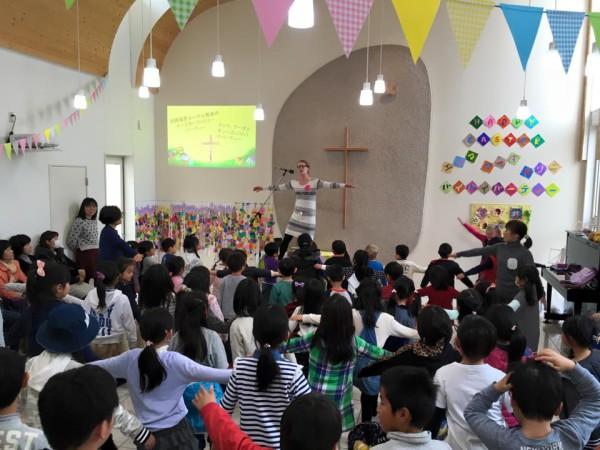 Pääsiäisjuhlaa ja eron haikeutta