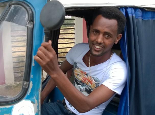Etiopialaisen nuoren tulevaisuudentoiveita