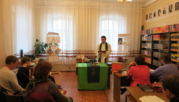 Jumalanpalvelus Venäjällä