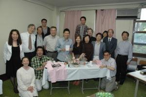 Koben teologisen seminaarin opiskelijoita ja opettajia. Kuva: Jorma Pihkala