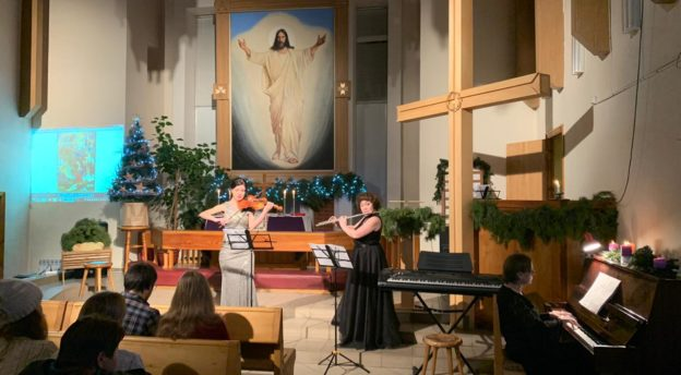 Kuva konsertista Mordvassa