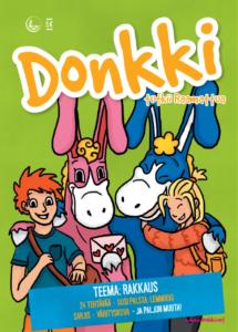 Kesän Donkki-lehden kansikuva: Sini Kuparinen
