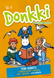 Syksyn Donkki-lehden kansikuva