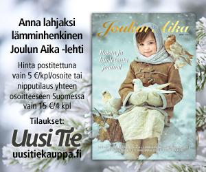 Joulun Aika -lehden mainos