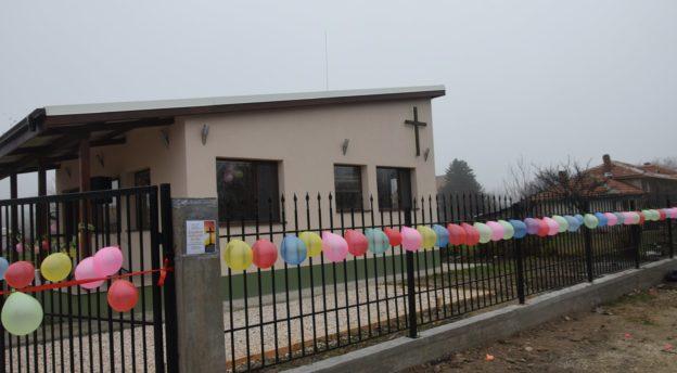 Krushevon kirkko valmiina avajaisiin. Kuva: Haveristen albumi