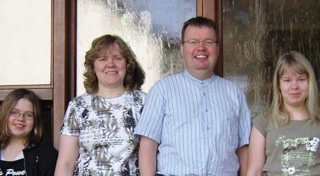 Tuovisen perhe Saksassa