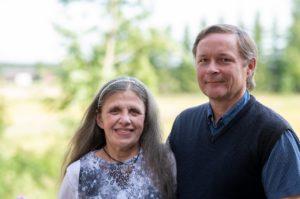 Päivi ja Hannu Heinonen Kyproksella. Kuva: Sakari Heinonen