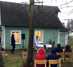 Veljesseurakunnan rukoushuone Sakussa. Kuva: Jukka Repo