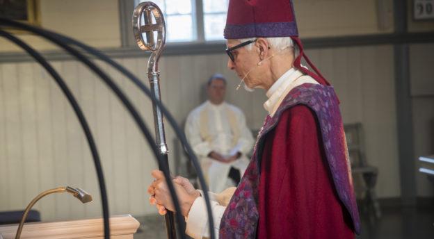 Piispa Matti Repo. Kuva: Philippe Gueissaz
