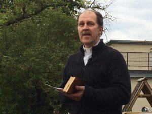 Lasnamäen Pyhän Markuksen seurakunnan pastori Kaido Petermann.