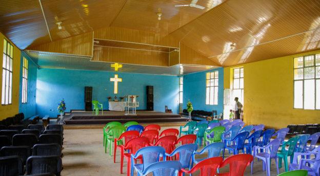Ameyan kirkko sisältä. Kuva: Jarkko Viljanen