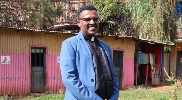 Pastori Alemayehu Kebede. Kuva: Teijo Peltola