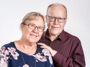Tuula ja Esko Siljanen. Kuva: Jenni Kosonen / KuvaMatti.